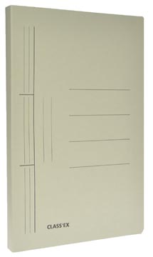 Class'ex hechtmap, ft 25 x 32 cm (voor ft A4), grijs