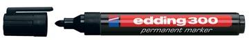 edding permanent marker 300 zwart