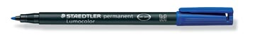 Staedtler OHP-marker Lumocolor Permanent blauw, medium 1 mm