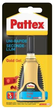 Pattex secondelijm Gold Gel