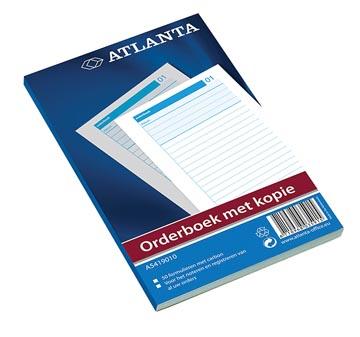 Atlanta by Jalema Orderbook 50 x 2 vel, ft 21 x 14,8 cm, 1 vel carbon