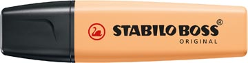 STABILO BOSS ORIGINAL Pastel markeerstift, pale orange (lichtoranje)