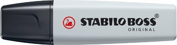 STABILO BOSS ORIGINAL Pastel markeerstift, dusty grey (lichtgrijs)