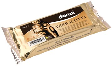 Darwi boetseerpasta Terracotta, pak van 500 g