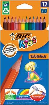 Bic Kids kleurpotlood Ecolutions Evolution, doos van 12 stuks