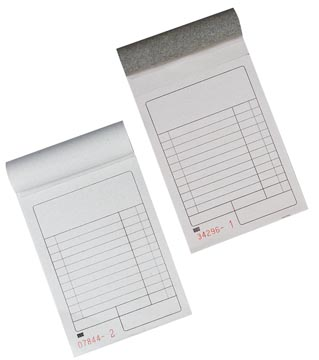 Gallery kassablok met rug uit karton