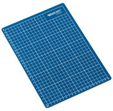 Westcott snijmat blauw ft A4, op blister