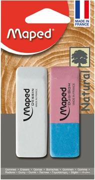 Maped gum Dessin & gum Duo-Gom, op blister