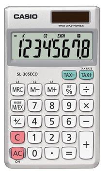 Casio zakrekenmachine SL-305 ECO