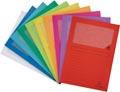 Exacompta L-map Forever, voor ft A4, pak van 100 stuks, geassorteerde kleuren